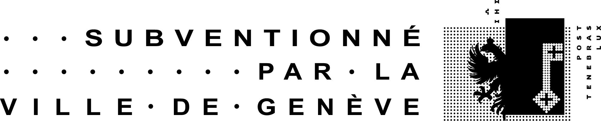 Subventionné par la ville de Genève